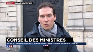 Premier Conseil des ministres après les départementales