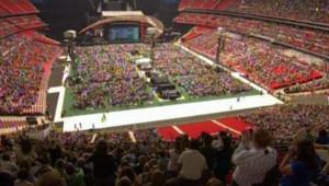 TF1/LCI : Concert géant à Wembley à la mémoire de Diana (1er juillet 2007)