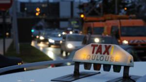 Un taxi toulousain - Image d'illustration