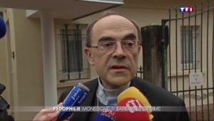 Agressions sexuelles d'un curé sur des scouts : le cardinal Barbarin répond à la polémique