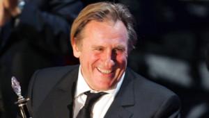 Gérard Depardieu en 2006 au Festival international du film de Moscou
