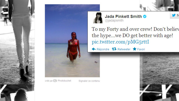 Jada Smith s'exhibte sur Twitter