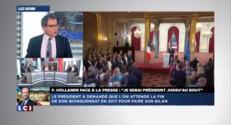 """Conférence de presse: Hollande """"juste"""" et """"solennel"""" mais """"pas clair"""""""