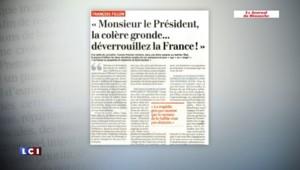 """François Fillon : """"Monsieur le Président, la colère gronde..."""""""