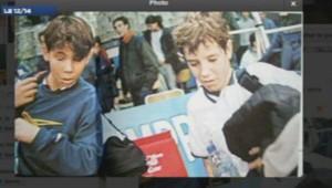 Gasquet contre Nadal en 1999