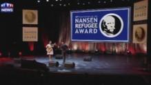 Mini-concert pour la remise de la Médaille Nansen 2014
