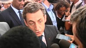 Nicolas Sarkozy à La Réunion UMP