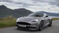 Aston Martin Vanquish millésime 2015, avec nouvelle boîte 8 rapports et moteur V12 6,0 litres 576 chevaux