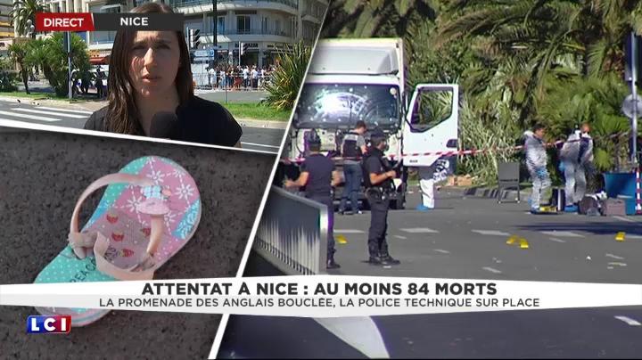 attentat nice le camion est toujours sur place soci t mytf1news. Black Bedroom Furniture Sets. Home Design Ideas