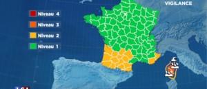Intempéries : la Corse toujours en vigilance orange, la Sardaigne déjà frappée par la tempête