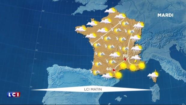 La météo du lundi 25 juillet : du soleil partout... sauf dans le Nord !