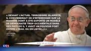 Le pape François se réjouit de l'élection de Sadiq Khan à la mairie de Londres