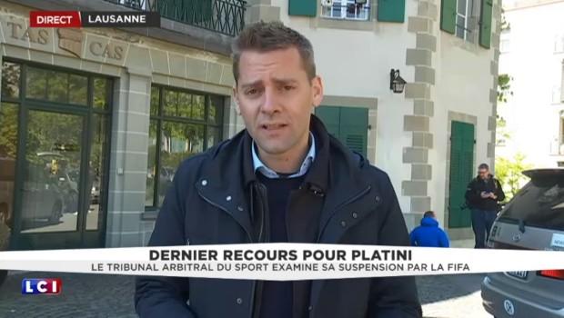 Michel Platini devant le TAS : Sepp Blatter est arrivé, très affaibli
