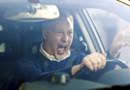 Un conducteur stressé et énervé (Image d'illustration)
