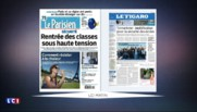 Canicule, rentrée scolaire et sécurité… La revue de presse du mercredi 24 août 2016