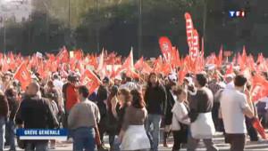 Grève générale : des dizaines de milliers de manifestants en Espagne