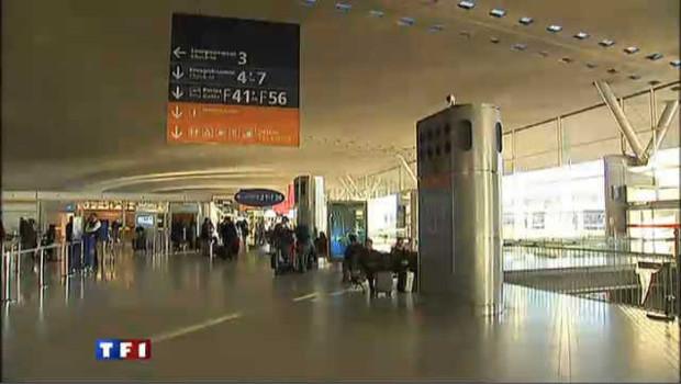 L'aéroport de Roissy CDG, en décembre 2010