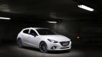 La Mazda3 Trophée Andros, version dérivée de la compacte sortie en 2013, et qui n'apporte malheureusement que très peu de nouveautés.