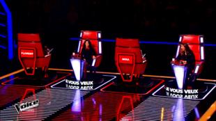 Les coachs de The Voice 4