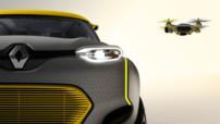 Renault Kwid, concept-car présenté au Salon de New Delhi (Inde) le mercredi 5 février 2014