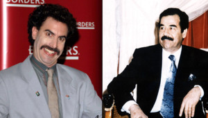 Sacha Baron Cohen Borat Saddam Hussein