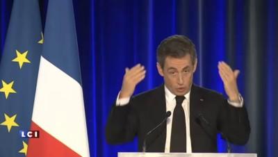 """Sarkozy : """"Je n'ai pas d'adversaire dans ma famille politique"""""""