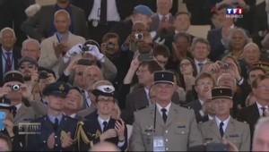 70 ans du Débarquement : Obama remercie chacun des vétérans à son arrivée