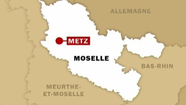 Carte Metz