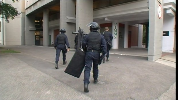 Grenoble quartier Villeneuve cité opération de police
