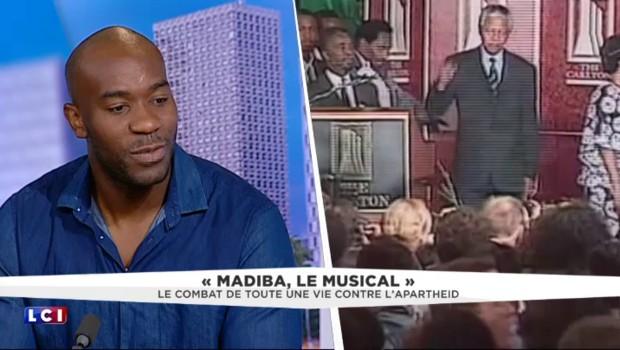 """Il incarne Mandela dans """"Madiba, le musical"""" : James Noah raconte comment il se l'est accaparé"""