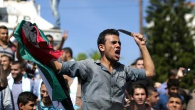 Israël Palestine couteau attaque