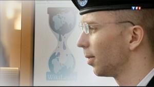 Le 20 heures du 30 juillet 2013 : Wikileaks : Bradley Manning reconnu coupable d'espionnage - 1383.339