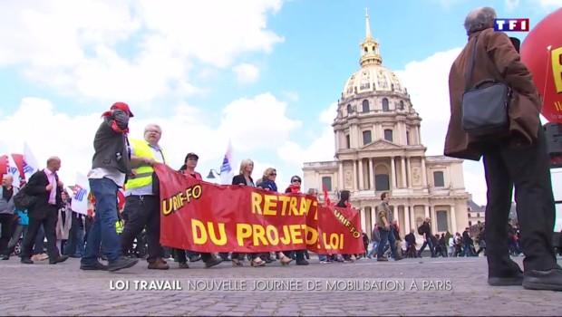 Loi Travail : 68.000 manifestants dans les rues françaises