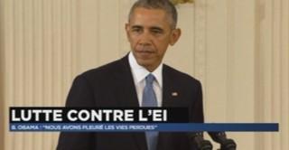 """Attentats à Paris : """"Nous sommes tous Français"""", lance, en français, Obama"""