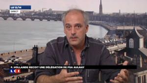Philippe Poutou vent debout contre les licenciements