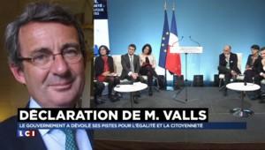 """Valls sur le logement : """"Je ne vois rien de neuf"""" déclare Jean-Christophe Fromantin"""