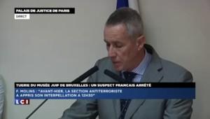 Tuerie du musée juif de Bruxelles : les précisions du procureur de Paris