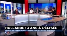 """3 ans à l'Elysée : Hollande, """"dernier avatar de la dégradation du pouvoir"""""""