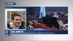 """Neige en Savoie : """"Nous demandons aux gens de différer au maximum leur départ"""""""
