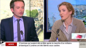 Pierre-Yves Bournazel et Nathalie Kosciusko-Morizet sur i>télé