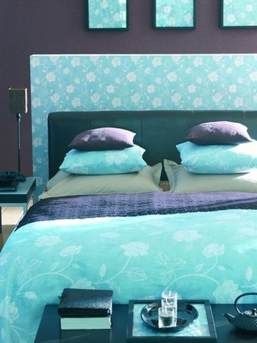 utiliser le papier peint en d co tendances d co d co. Black Bedroom Furniture Sets. Home Design Ideas