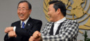 Ban Ki-Moon et Psy-Nations Unies- 23 octobre 2012