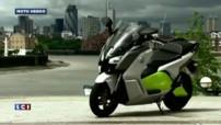 Emission Moto Hebdo 3 Mai 2014 BMW C Evolution scooter électrique