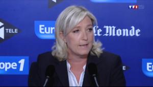 Le 20 heures du 29 juin 2014 : Matchs de l'Alg�e : les r�tions de Marine Le Pen et Fran�s Fillon - 1418.882