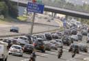 vacances bouchon départ embouteillage autoroute voitures