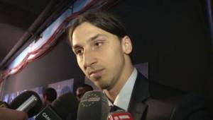 Zlatan Ibrahimovic à l'issue du match PSG-Barça le 10 avril 2013