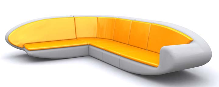 Canapé angle Loval Thomas de Lussac