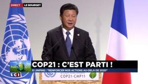 """COP 21 : Xi Jinping appelle à """"renforcer nos actions au-delà de 2020"""""""