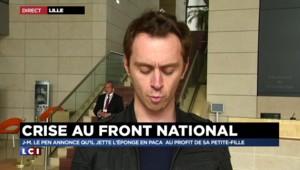 """Crise au FN : Marine Le Pen en a """"assez des polémiques à deux balles"""""""