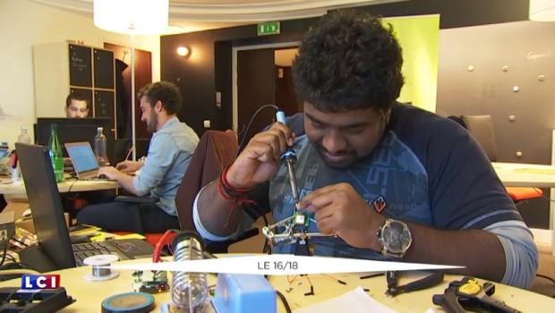 Des incubateurs réunissent des dizaines de start-ups